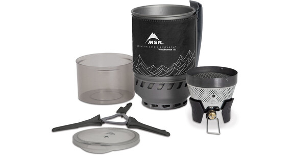 MSR WindBurner Campingkoker 1,0l grijs/zwart